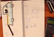 تمرين الطاقة والشغل والإحتكاك6  -ميكانيكا ثالثة ثانوي