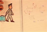 مخطط الجسم الحر وشنطة السفر2/3 - تدريبات عامة في الميكانيكا - ميكيانيكا
