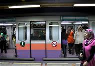 """""""مترو الانفاق"""" : وقف حركة الخط الثاني 13 دقيقة"""