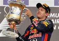 أول من ورد في ذهن فيتل عقب تتويجه بسباق الجائزة الكبرى