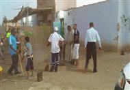 بالصور.. معسكر نظافة في قرية عدن بالوادي الجديد احتفالاً بيوم البيئة العالمي