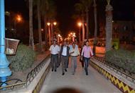 بالصور.. جولة مفاجئة لمحافظ كفر الشيخ في بلطيم