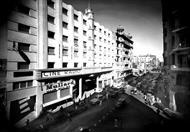 صورة نادرة - شارع سليمان باشا بالقاهرة ١٩٥٠