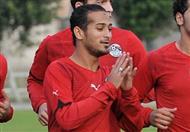 لاعبو الأهلي يحتفلون بعيد ميلاد وليد سليمان