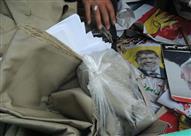 صور..تواصل حملات الشرطة علي مسقط رأس مرسي لضبط المحرضين علي العنف