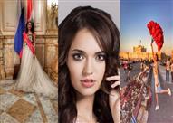 بالصور.. صاحبة لقب أجمل وجه في العالم.. ماذا قالت عن زيارتها لمصر؟