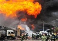 إصابة 13 شخصا في انفجار للغاز بوسط روسيا