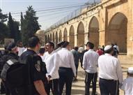 قوات الاحتلال تقتحم المسجد الأقصى وتداهم منطقة باب الرحمة