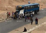 بالصور.. مصرع وإصابة 13 شخصاً في حادث مروع بمدينة نصر