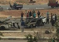 """10 صور ترصد آثار حادث مدينة نصر.. """"أتوبيس دهس سيارة ميكروباص بالركاب"""""""