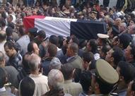 تشييع جثمان العميد رجائي من مسجد المشير بحضور وزير الدفاع