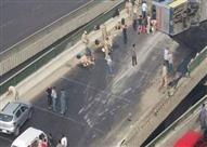 """مصدر: سيارة نقل وراء انقلاب أتوبيس يستقله 56 مجندًا بـ""""دائري المريوطية"""""""
