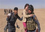طفلة عراقية لمنقذيها: أشكركم وأود تقبيل قدميكم