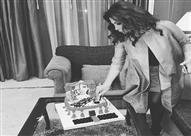 """إليسا تحتفل بعيد ميلادها مبكرا بسبب """"تورتة مصرية"""" - (صورة)"""
