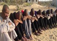 إحباط محاولة تسلل 75 بينهم 11 سوانيًا إلى ليبيا عبر السلوم