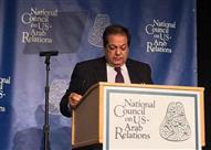 """أبو العينين أمام """"صناع القرار"""" بواشنطن: مصر تمتلك إمكانات تجعلها بين"""