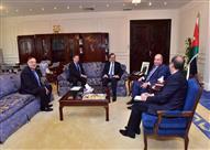 وزير البترول يبحث مع رئيس وزراء الأردن التعاون بمجال استيراد الغاز