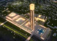 بالصور: هل تعلم أين توجد أعلى مئذنة مسجد في العالم؟!