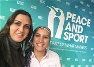 """بالصور- رانيا علواني وآيه مدني في مؤتمر """"السلام والرياضة"""" بموناكو"""