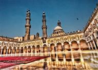 بالصور: هكذا تبدو المساجد في القاهرة.. مدينة الألف مئذنة
