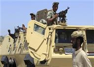 إصابة 3 جنود في استهداف قناصة لكمين جنوب الشيخ زويد