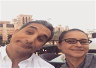 """باسم يوسف بعد لقاءه بنيللي كريم: """"ليست كئيبة ولا معقدة ولا مدمنة"""""""