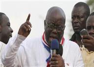 مرشح المعارضة في غانا يفوز بالانتخابات الرئاسية