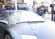 بالفيديو.. لوحات مزيفة تودي بحياة سيارة لامبورجيني فارهة