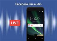 """بعد البثّ المباشر للفيديوهات.. فيسبوك تتيح البثّ الحيّ """"للمُحتوى الصوتي"""""""