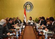 سحر نصر تبحث مع البنك الإسلامي للتنمية استراتيجية التعاون الجديدة