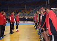 مران منتخب اليد استعدادا لكأس العالم فرنسا 2017