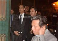 جمال وعلاء مبارك يقدمان العزاء فى زوجة محمد صبحى - (صورة)