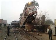 عودة حركة القطارات في اتجاه واحد ببني سويف