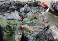 جمارك بورسعيد تحبط محاولة تهريب كمية من الملابس الأجنبية الصنع