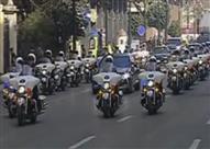 بالفيديو- لحظة وصول موكب الرئيس السيسي لمجلس النواب