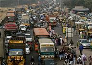 نيودلهي تعيد إطلاق برنامج تنظيم سير المركبات فى شوارعها
