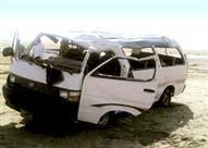 بالأسماء- مصرع ٥ أشخاص وإصابة ١٠ آخرين في حادث تصادم بالبحيرة – (مُحدث)