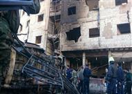 انفجار سيارة مفخخة في نادٍ لضباط الشرطة دمشق