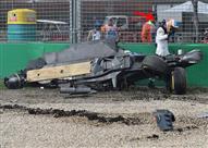 الونسو يشكر معايير الأمان في فورمولا-1 بعد نجاته من حادث هائل