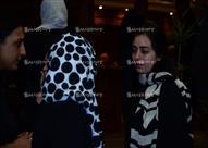 """عدسة """"مصراوي"""" ترصد 4 لقطات من عزاء والد هبة مجدي"""