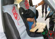 بالصور - أغرب عمليات تهريب البشر داخل السيارات