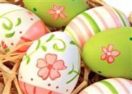 بالصور: أفكار فنية رائعة لتلوين البيض في شم النسيم