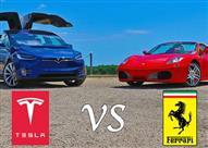 هل تصمد أول سيارة SUV كهربائية في مواجهة حصان فيراري الجامح؟