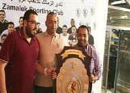 كرة يد- أيمن صلاح: مرتضى منصور سر التتويج بالبطولات