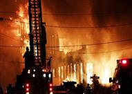 """""""حصل وأنت نايم"""".. حريقان هائلان وزلزال واشتباكات دموية"""