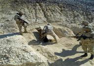 ضبط مخزن متفجرات داخل كهف جبلي بوسط سيناء