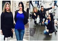 بالصور: صافينار تنشر تفاصيل رحلتها في ميلانو مع شقيقتها