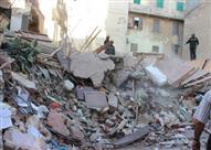 انهيار4  عقارات وإخلاء 3 آخرين من السكان بالإسكندرية