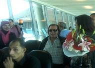 انجلبرت همبردنك يصل مصر لإحياء حفل غنائي - صورة