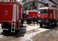 السيطرة على حريق هائل بمخزن في مدينة نصر